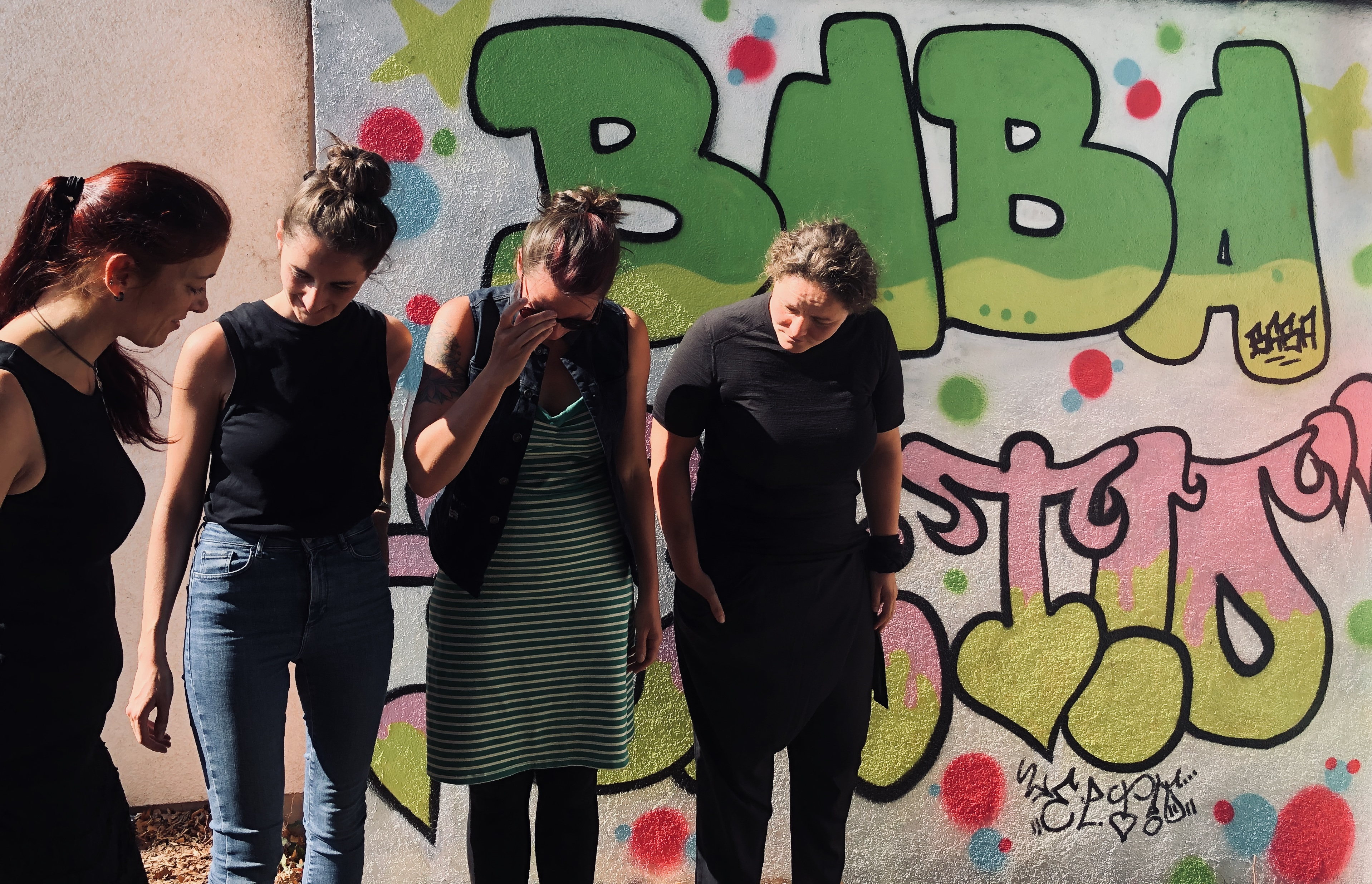 Foto unserer aktuellen Schulsozialarbeiterinnen (2020)